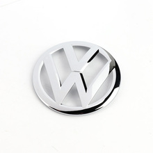 OEM Front Center Grille Chrome Emblem Badge Logo Grill Decal Fit for VW Golf MK7 VII 5G0 853 601 2ZZ(China)