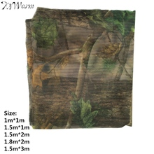 KiWarm On Sale Clear View Camo Net Hide Netting Birds Decoy Hunting Woodland Camping Military Camouflage Netting Mesh 5 Size
