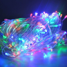 10m LED Lights Strap Lamp White Waterproof For Home Garden Christmas Decoration Outdoor Indoor Decor Christmas Tree Ornament(China)