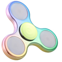 LED Light Fidget Spinner Finger ABS EDC Hand Spinner For Kids Autism ADHD 5 Styles Anxiety Stress Relief Focus Handspinner