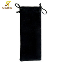 SENRHY 12.5x5.5cm Fleece Bag With Cord For 10 Holes Harmonicas Storage Protective Harp Bag Musical Instruments Accessories Hot