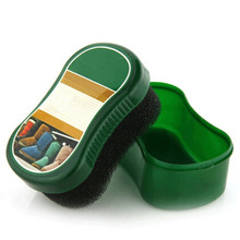 1 pcs New Green Shoe Cleaning Brush For Suede Nubuck Boot Shoes Cleaner Free shipping 11*6*6cm(China)