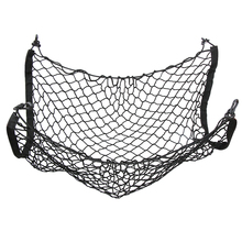 Car Mesh Cargo Net Holder Trunk Auto Elastic Storage 4 Hook For Audi A3 A4 A5 A6 A7 A8 Q3 Q5 Q7 For BMW 3 5 7 X3 X4 X5 X6 GT5 GT(China)