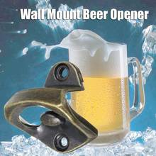 Bar Club Wine Beer Opener Wall Mounted Soda Glass Cap Opener Wine Bottles Opening Tools Gadgets Kitchen Barware Supplies(China)