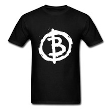 Buy T Shirt Summer Personality Fashion T Shirts O-Neck Short Sleeve Short Mens Hot Selling Crazy Comic Bitcoin Anarchist T Shirts for $14.99 in AliExpress store