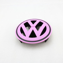 Pink Front Grille Grill Badge Logo Emblem VW Logo for VW Volkswagen Passat CC(China)