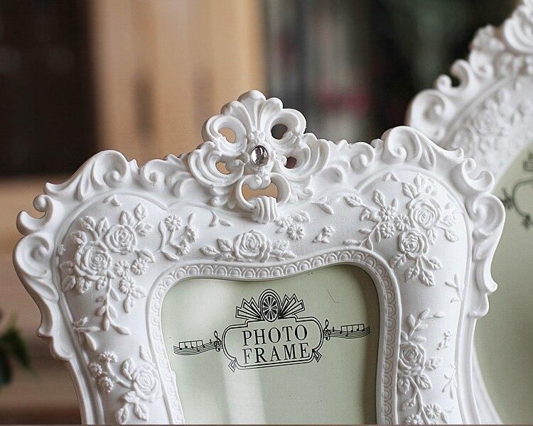 2016 NEW European Home Furnishing white Photo frame 6 inch 7 inch wed_C1_22