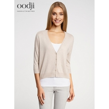 oodji 2017 Jacket knitted free silhouette free delivery in Russia 6321256945763 oodji 2017 Women Jacket Shipping
