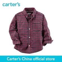 Carter's 1pcs baby children kids Poplin Button-Front Shirt 263G613,sold by Carter's China official store