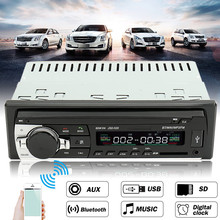 24V Car Radio Bluetooth Auto Car Audio Stereo Player Support Phone AUX-IN MP3 FM USB 1 Din Remote Control In Dash(China)