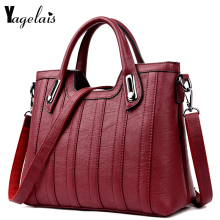 Buy European American Style Women Clutch Leather Flap Ladies Single Shoulder Bags Crossbody Bags Soft Fashion Womens Handbags for $24.90 in AliExpress store
