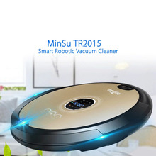 Smart Robotic Vacuum Cleaner, Automatic Vaccum Robot Sweeper Cleaner Multi-Surface Floor Clean Upgraded Version
