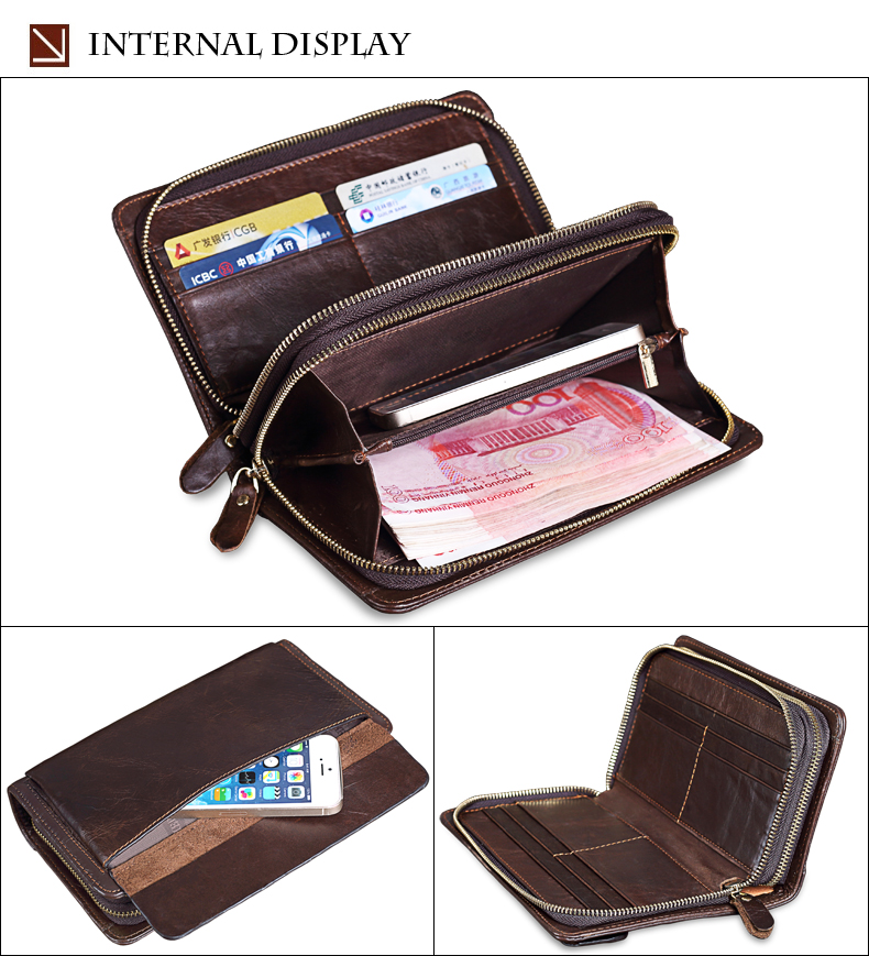 Cowhide Week's Business Wallets 15