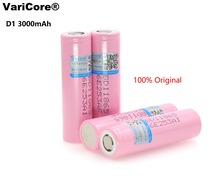 VariCore 100% new original 18650 3.7V 3000mAh rechargeable lithium battery D1 industrial LG free shopping - Official Store store