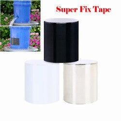 Сверхпрочная водонепроницаемая клейкая лента для ремонта протечек, 15-х10 см