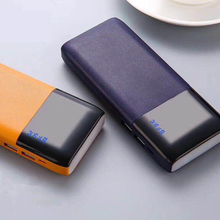 18650 20000mAh Power bank Universal Ultra Thin LED Powerbank Portable External Battery Charger Powerbank Xiaomi Samsung