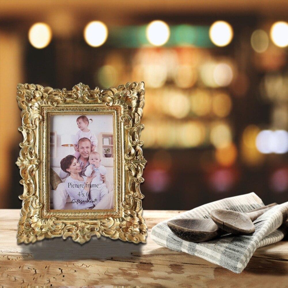 Giftgarden 4x6 Vintage Photo Frames Gold Picture Frame Wedding Gift Ho_2