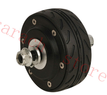 Buy free shippping 80W 24v 4 inch double shaft electric wheel hub motor,electric motor scooters,electric skateboard motor for $115.00 in AliExpress store