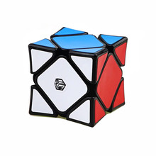 QIYI X-Man Wingy Professional Magnetic Magic Cube 56mm PVC Sticker Puzzle Cube Skewb Cube Educational Toys for Children or Adult