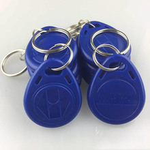 10pcs/pack  RFID Tag Proximity ID Token Tags Key Keyfobs Ring 125Khz RFID Card Chip ID em4100 for Access Control Time Attendance