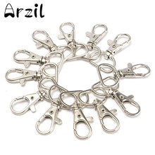 25pcs/Lot Hook Swivel Snap MINI Metal Lanyard For Handbag Portable Lobster Clasp Clips Bag Accessories Wholesale Buckle Hook(China)
