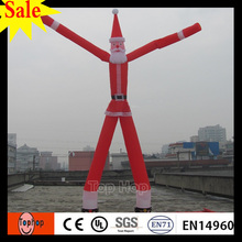 TWO Legs Inflatable Santa Claus Air Dancer for Advertisement Sky dancer for Events factory price and FREE Shipping(China)