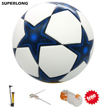 2017 High quality Champions League Official size 5 Football ball material PU Professional competition train durable soccer ball