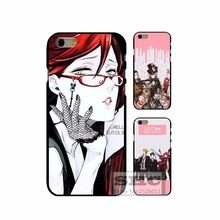 Black Butler Custom cell phone Cover Case For Xiaomi Mi3 Mi4 Mi4i Mi4S Mi5 Mi5S Note 2 Redmi 2 3 4 Note 2 3 4