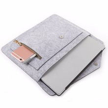 Storage Bag Felt Leather 13 inch Notebook Laptop Case Laptop Sleeve for 365*270mm Protective Carrying Sleeve Case Cover Shell