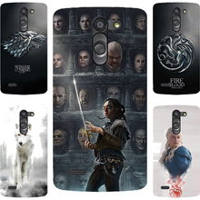 Fashion GOT Game Of Throne House Stark Hard PC Painting Case For LG Leon 4G Lte C40 H340N H320 C50 H324 Cell Phone Printed Case