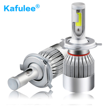 GZ Kafulee c6 car LED Light H1 H3 H4 h7 led bulb H8 H9 H11 9005 9006 9012 HB3 HB4 Auto led headlight led lamp 6000K 72W 4000LM