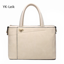 YK-Leik  Limited Promotion Zipper Korean Ol Women Handbag Briefcase Quality Shoulder Bag Messenger Ladies Bags Free Shipping