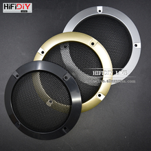 HIFIDIY LIVE 4.5'' 4 inch Speaker Net Cover High-grade Car home mesh enclosure speakers Plastic Frame Metal  iron wire grilles