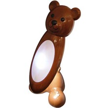 KT415B Bear table lamp+LED night light. There is a child protection: the fuse is tripped and the luminaire is switched off