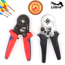 HSC8 6-4A MINI-TYPE SELF-ADJUSTABLE CRIMPING PLIER 0.25-6mm2 terminals crimping tools multi tool hands pliers LUBAN hsc8 6-4