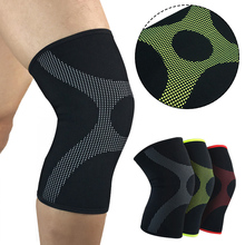 1 Pc Breathable Knee Pad Brace Protector Outdoor Sports Body Building Kneepad(China)