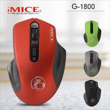 iMICE Wireless Gaming Mouse 4 Button Optical Professional Mouse Game Machine Computer Mouse for PC Notebook PC(China)