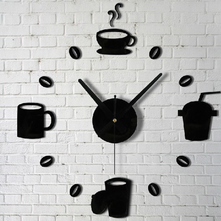 UTB8lhWsr0oSdeJk43Owq6ya4XXaw - 20 PCS/Set Quartz clocks fashion Stickers Coffee Cups Kitchen Wall Art