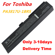 100PCS Laptop Battery Replacement for TS-PA3817U TOSHIBA Satellite L750 L700 L730 L750 L745D L755 L770 L775 10.8V/5200 6cell(China)