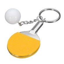 New Sport Pingpong Table Tennis Keychain Keyring Souvenir Gift Neutral Accessories Present for Men and Women Wholesale