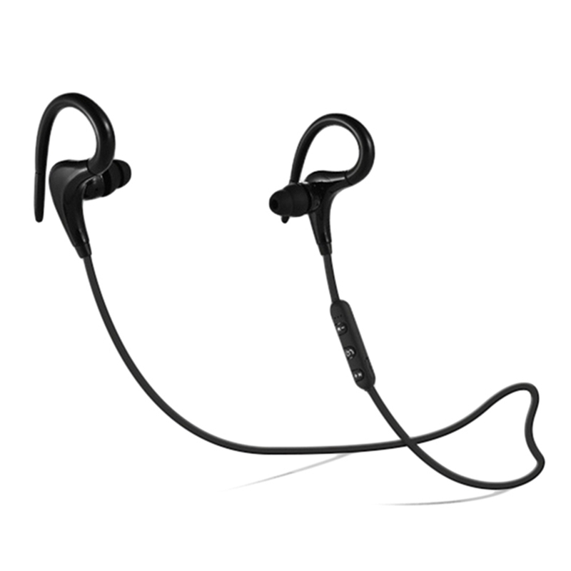 Hot Sale Bluetooth 4.1 Wireless Headset Stereo Music Bluetooth Earphone Ear Hook Sport Headphone Running Fitness Exercise