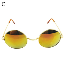 Unisex Retro Style Small Round Circle Mirror Lens Sunglasses Outdoor Eyewear
