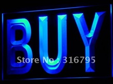 i640 BUY Shop Advertising Lure Display NEW Light Sign On/Off Switch 7 Colors 4 Sizes