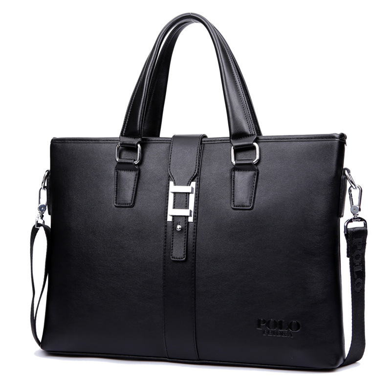 Free Shipping Famous Brand POLO Mens Satchel Handbag Shoulder Bags For Men Cross Body Bag Leather Messenger Bag briefcase<br>
