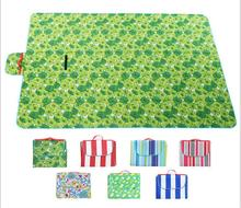 Outdoor Beach Picnic Camping Mat Waterproof Moisture proof Multiplayer Foldable Baby Climb Plaid Blanket Picnic mat