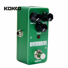 KOKKO FOD3 Mini Overdrive Guitarra Pedal Portable Electric Guitar Effect Pedal For Musical Instrument Ukulele Parts Accessories(China)