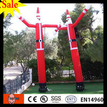 2017 New arrvail Inflatable Santa Claus Air Dancer for Advertisement Sky dancer for Events factory price and FREE Shipping(China)