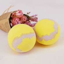 100g New Deep Sea Bath Salt Essential Oil Bath Ball Bubble Bath Bombs Ball Body Yellow Honey Scent Body Care SPA Shower Massager(China)