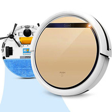 V5s Pro Intelligent Robot Vacuum Cleaner with 1000PA Suction Dry and Wet Mopping(China)