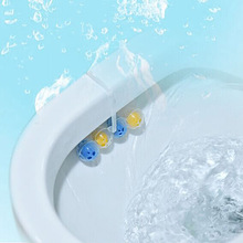Blue Bubble Toilet Cleaning Articles Toilet Wash Toilet Cleaner Clean Toilet Spirit(China)